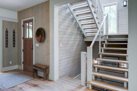 客厅门厅现代风格装修图片