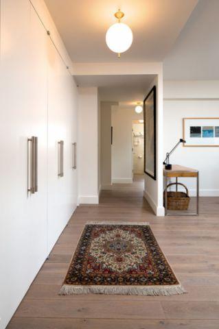 客厅白色走廊现代风格装饰效果图
