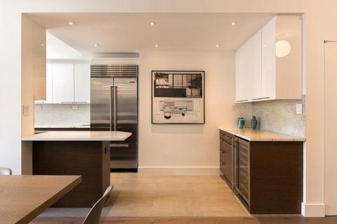 厨房白色细节现代风格装潢效果图