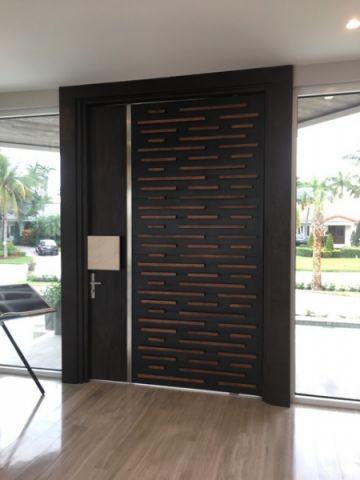客厅隐形门现代风格装潢效果图