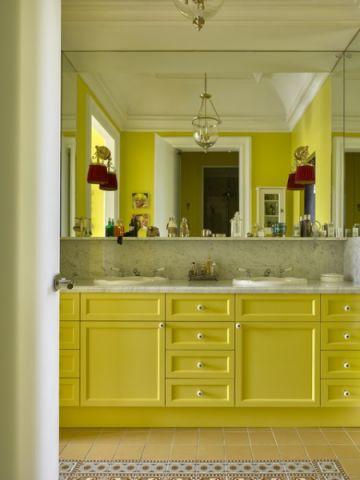 卫生间橱柜简欧风格效果图