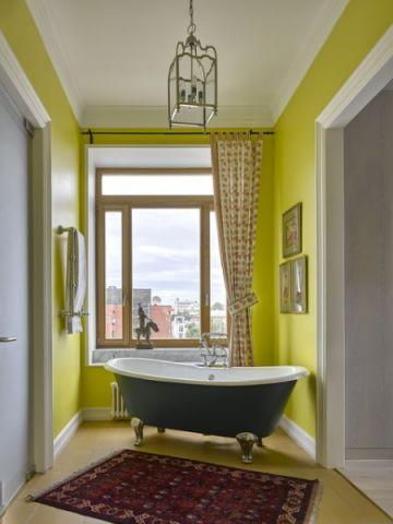 卫生间窗台简欧风格装修效果图