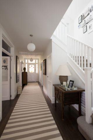 玄关楼梯简欧风格装饰图片