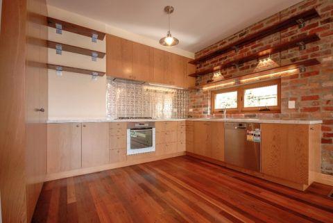 厨房背景墙简欧风格装饰设计图片