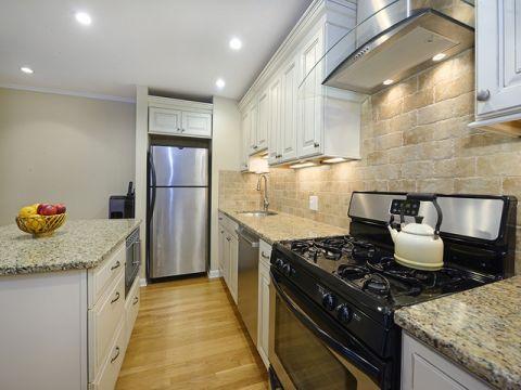 厨房隔断美式风格装修图片