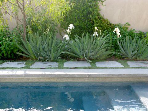 外景泳池混搭风格装修效果图
