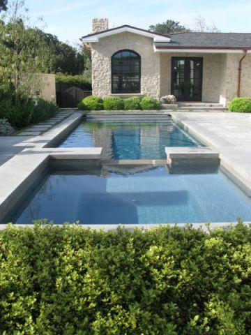 外景泳池混搭风格装修图片