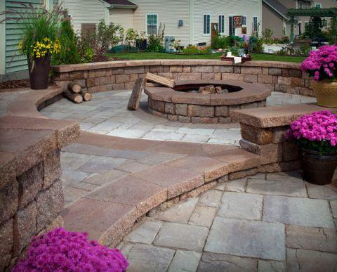 花园细节美式风格装修设计图片