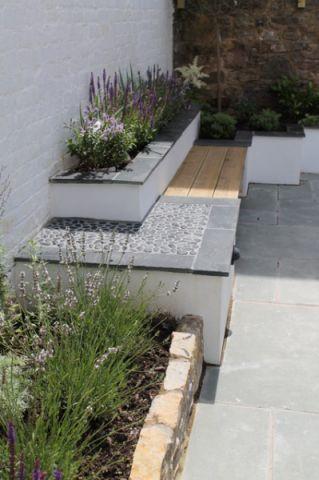 花园细节现代风格装潢设计图片