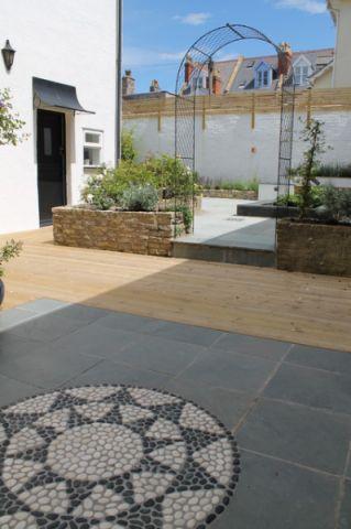 花园门厅现代风格效果图