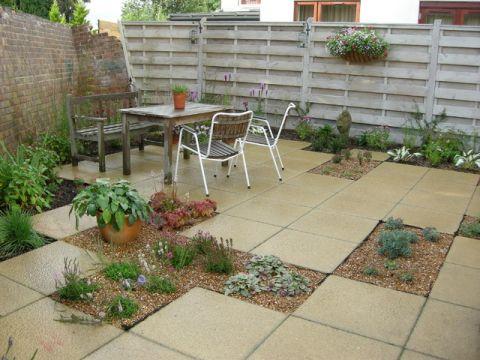 花园细节简欧风格装饰图片