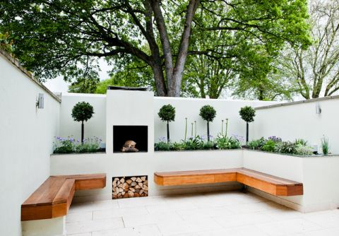 温暖现代风格花园装修效果图_土拨鼠2017装修图片大全