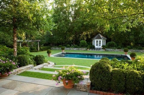 浪漫迷人美式风格花园装修效果图_土拨鼠2017装修图片大全