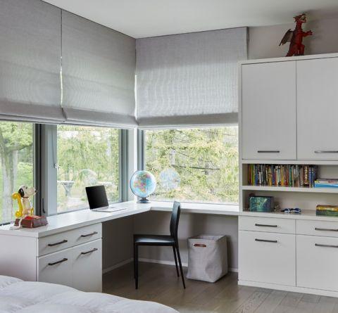 干净舒适现代风格儿童房装修效果图_土拨鼠2017装修图片大全