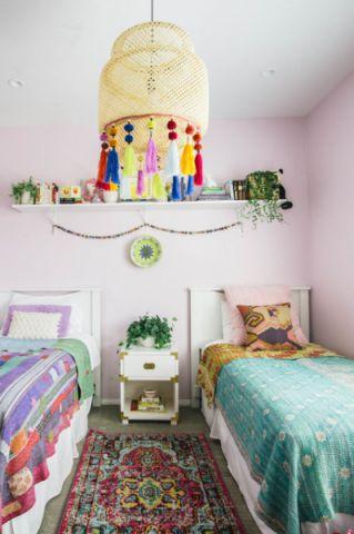 温馨舒适混搭风格儿童房装修效果图_土拨鼠2017装修图片大全