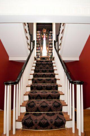 楼梯简欧风格装饰设计图片