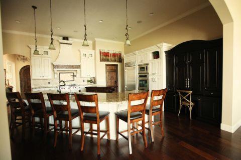 厨房吊顶美式风格装修图片