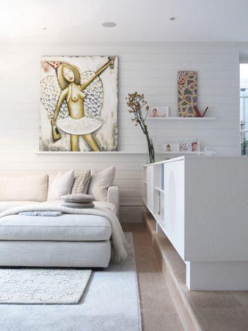 客厅照片墙现代风格装潢效果图