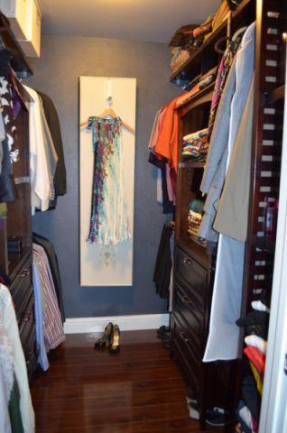 衣帽间橱柜混搭风格装潢图片