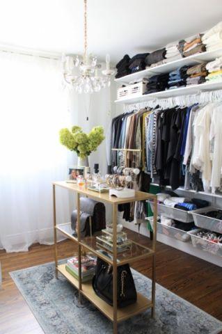 衣帽间橱柜混搭风格装修设计图片