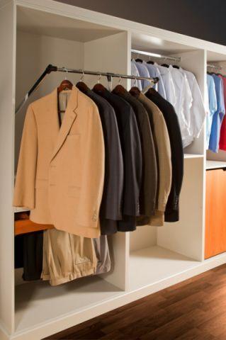 衣帽间橱柜混搭风格装饰图片