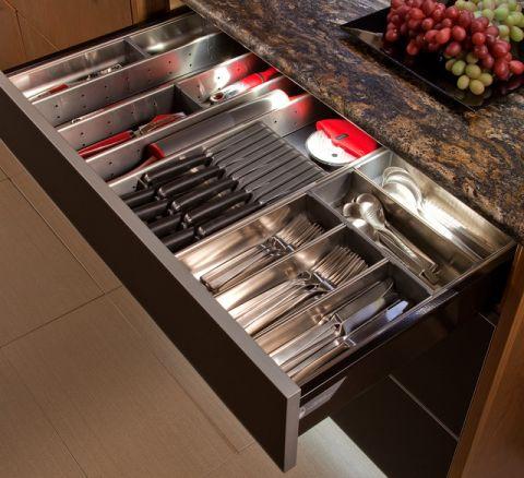 厨房橱柜混搭风格装饰设计图片