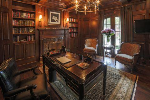 书房橱柜美式风格装饰设计图片