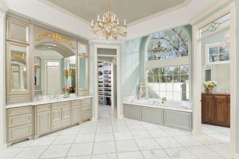 卫生间细节简欧风格装潢图片