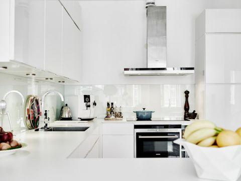 厨房细节简欧风格装潢效果图