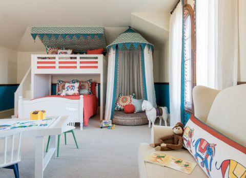儿童房细节简欧风格装修图片