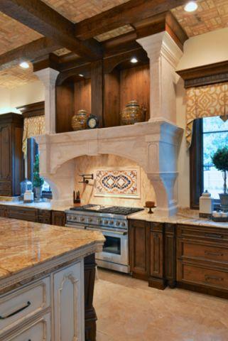 厨房细节简欧风格装修设计图片