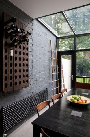 餐厅背景墙现代风格装饰效果图