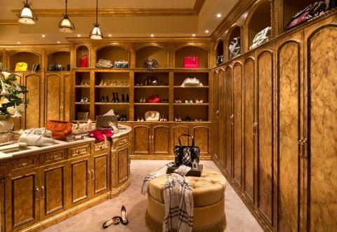 客厅橱柜简欧风格装饰设计图片