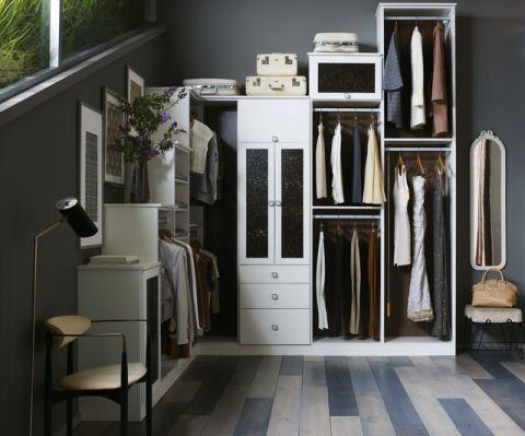 衣帽间橱柜现代风格装修效果图