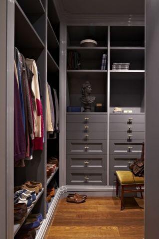 衣帽间橱柜混搭风格装饰效果图