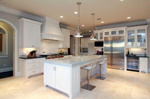 厨房细节美式风格装饰设计图片
