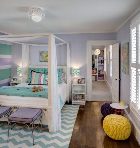 潮流个性美式风格儿童房装修效果图_土拨鼠2017装修图片大全