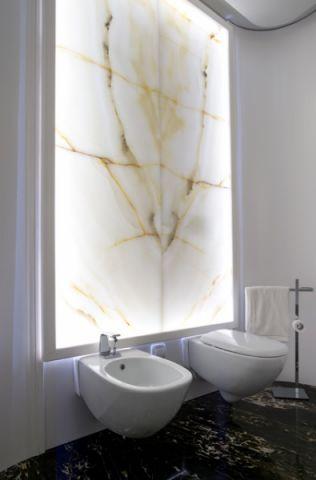 卫生间背景墙混搭风格装饰效果图