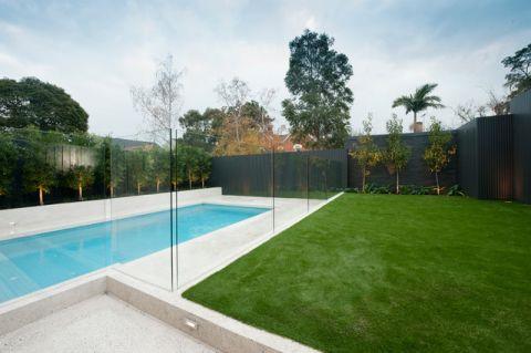 外景泳池现代风格装修图片