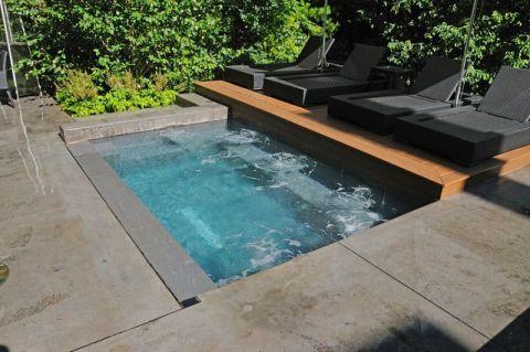 外景泳池美式风格装修效果图