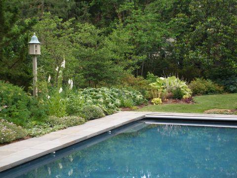 泳池美式风格装潢图片