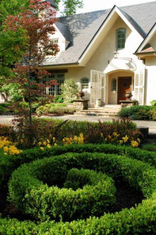 花园美式风格装潢设计图片