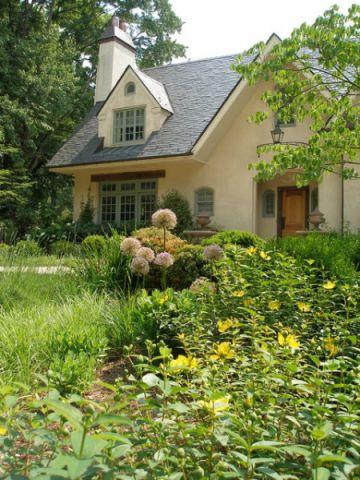 花园美式风格效果图