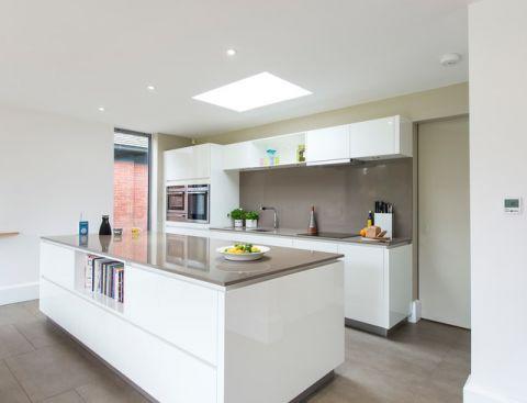 厨房白色细节简欧风格效果图