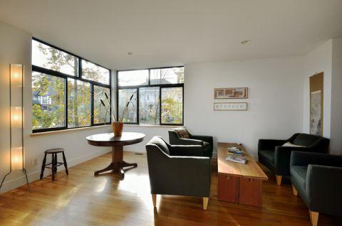 客厅白色细节现代风格装饰效果图