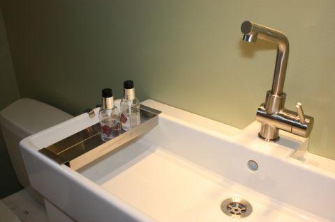 卫生间绿色细节现代风格装潢图片