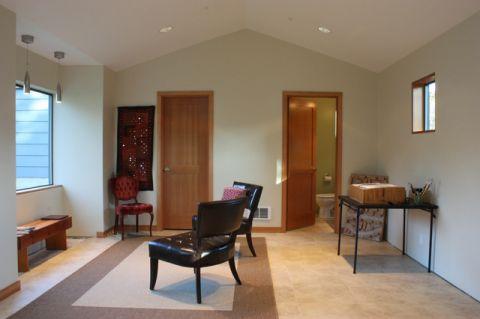 客厅白色细节现代风格装修效果图