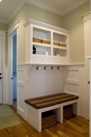 客厅白色走廊混搭风格装饰图片