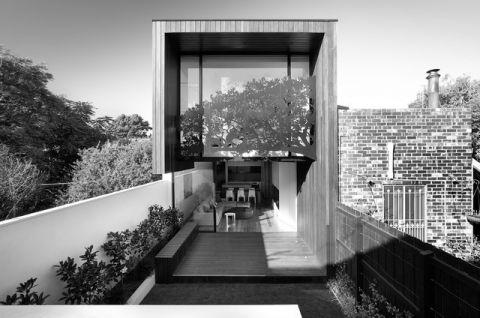 外景灰色外墙现代风格装修效果图