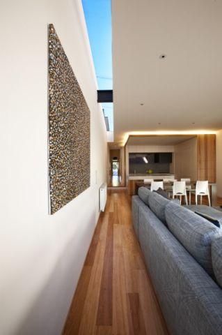客厅灰色沙发现代风格装饰效果图